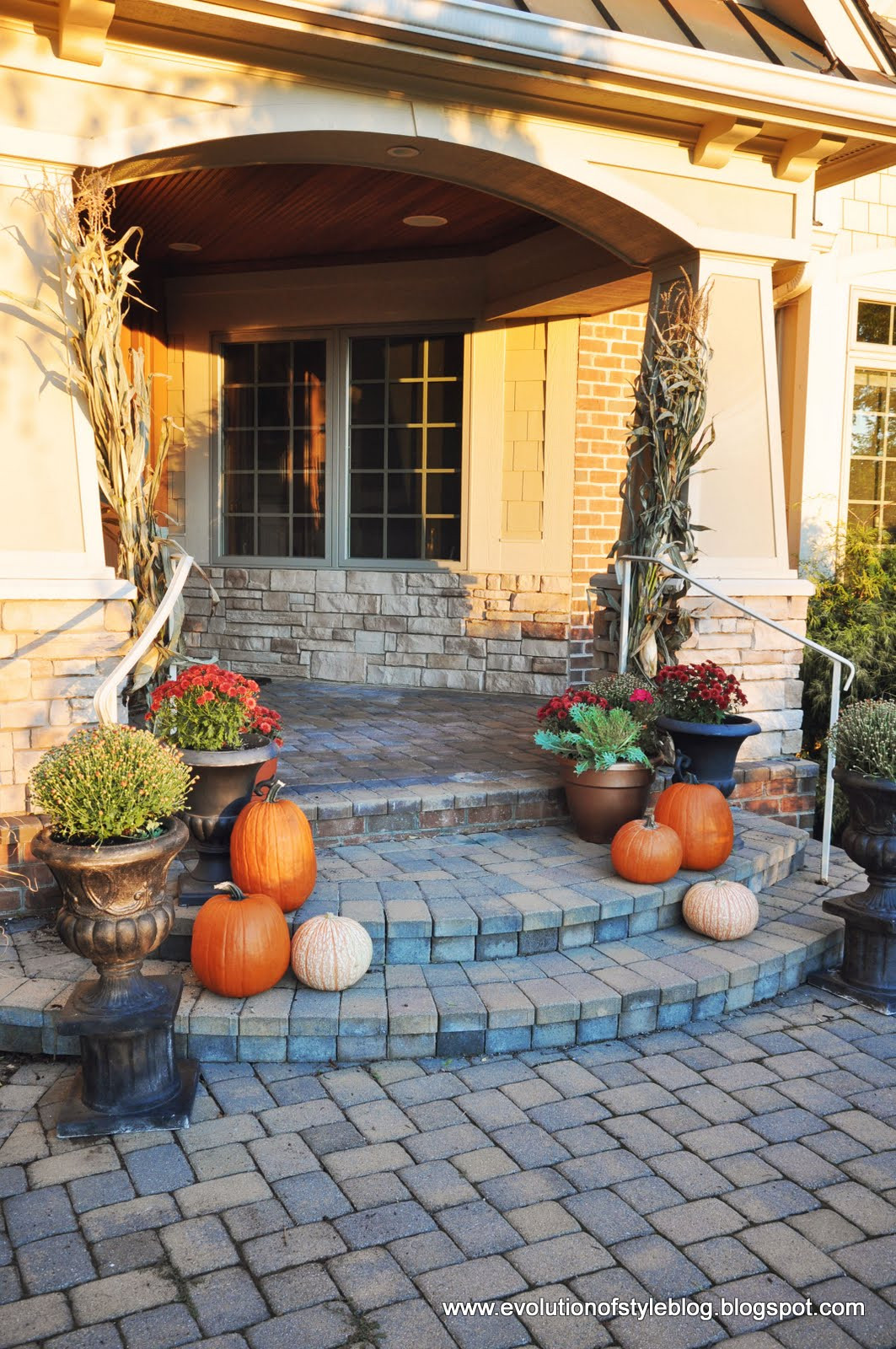 Outdoor Fall Decorations  Outdoor Fall Decor Evolution of Style