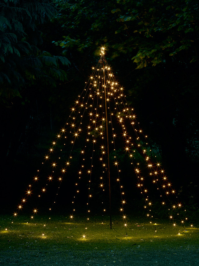 Outdoor Light Up Christmas Tree  Christmas lights