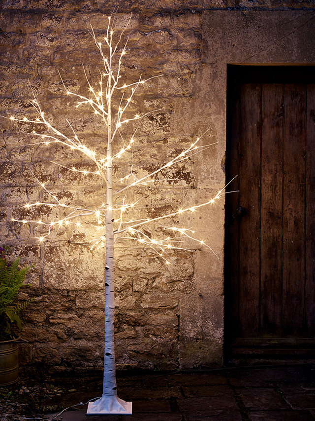 Outdoor Light Up Christmas Tree  Twinkle lights for the garden