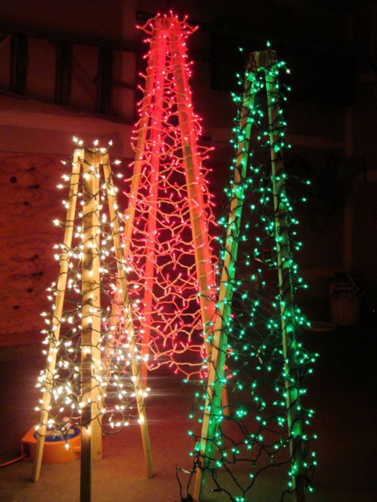 Outdoor Light Up Christmas Tree  Best 25 Outdoor christmas trees ideas on Pinterest