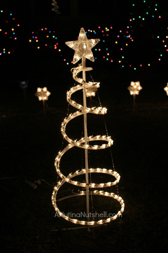 Outdoor Spiral Christmas Trees  Kmart Archives Eat Move Make