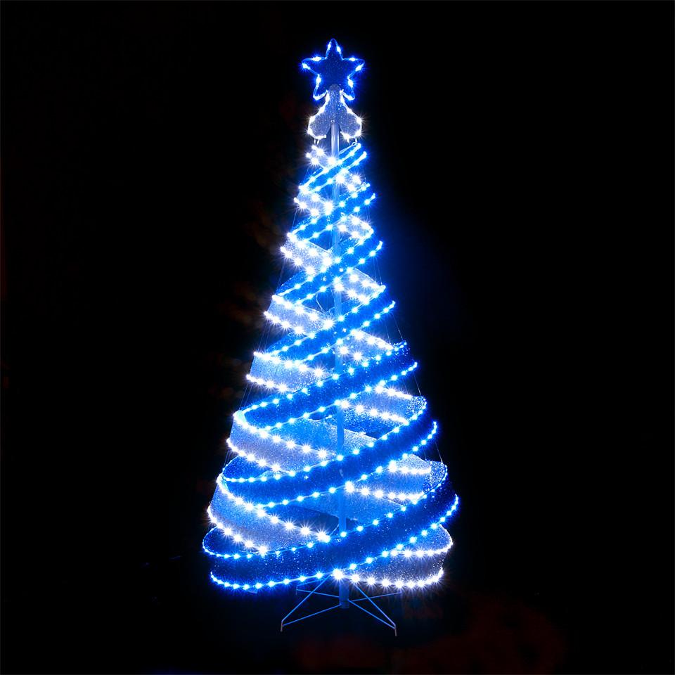 Outdoor Spiral Christmas Trees  Spiral Christmas Tree Led