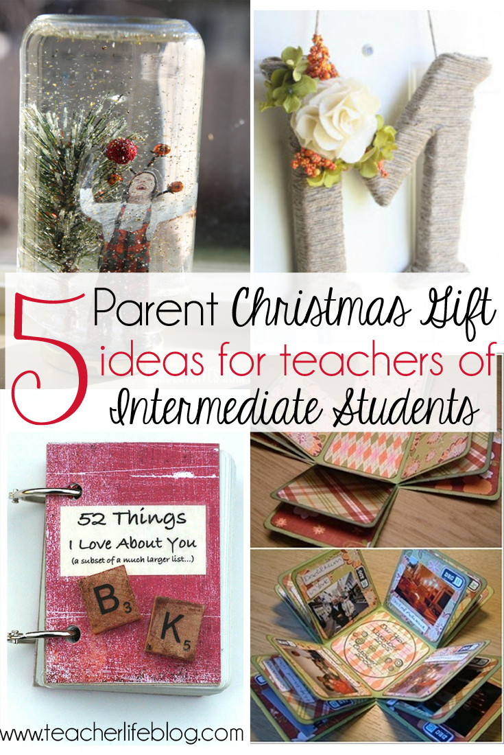 Parent Christmas Gift Ideas  5 Parent Christmas Gift Ideas for Upper Elementary Classrooms