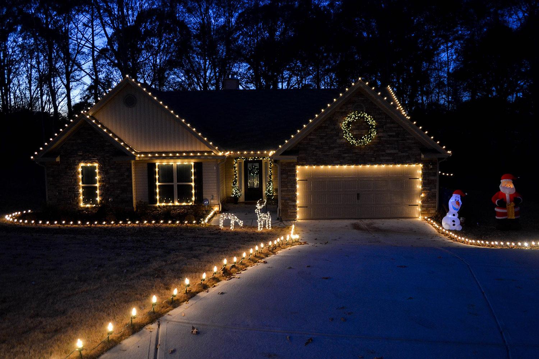 Patio Christmas Lights  Outdoor Christmas Decorating Ideas Yard Envy