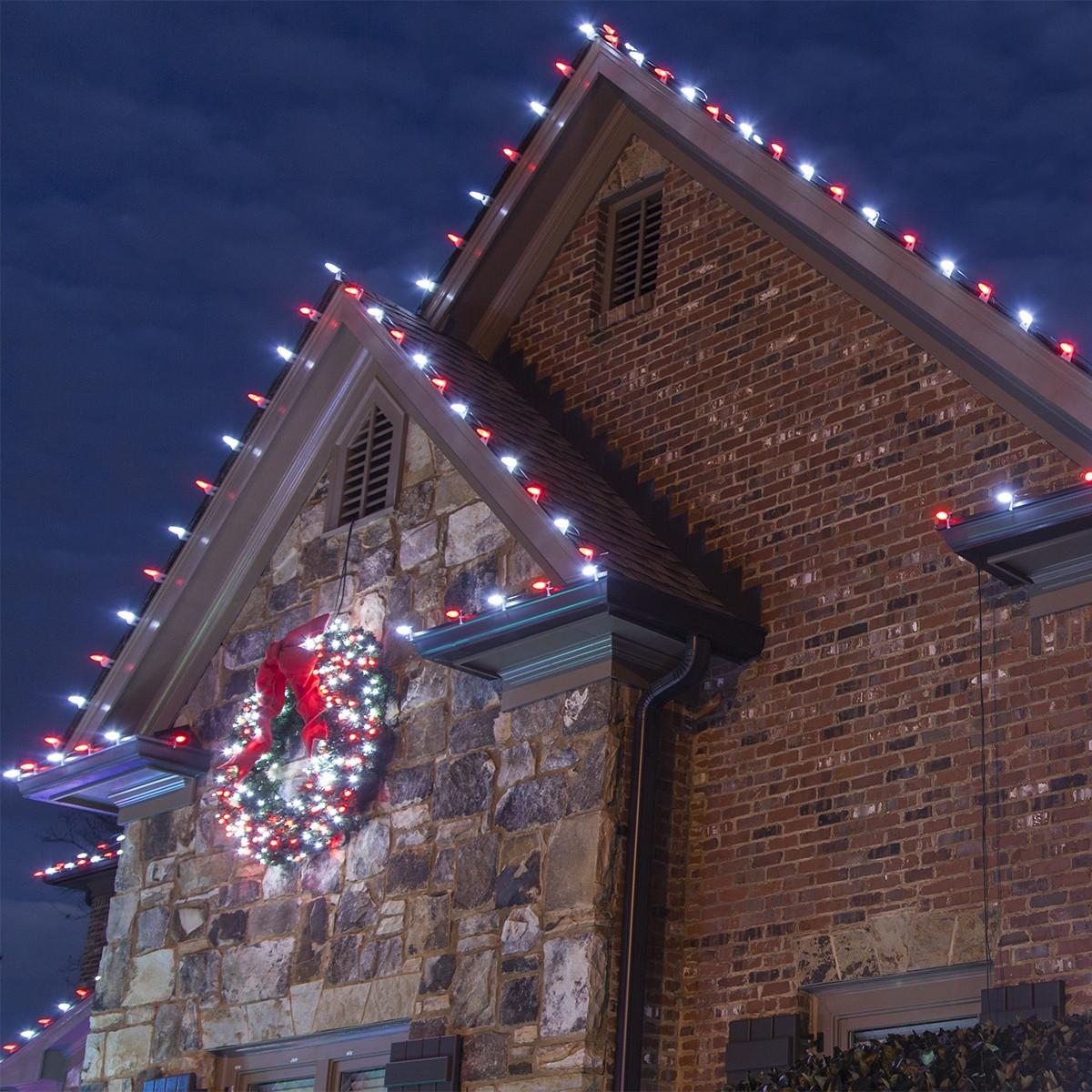 Patio Christmas Lights  Hanging Christmas Lights