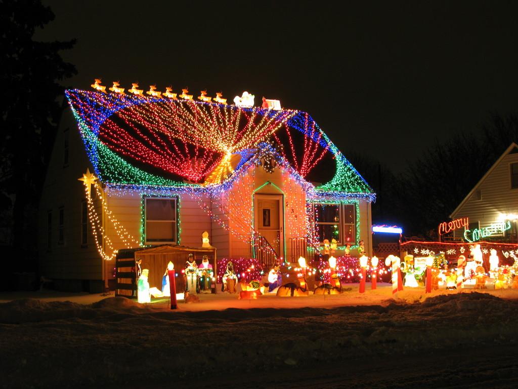 Patio Christmas Lights  C Style Design Outdoor Christmas Lighting