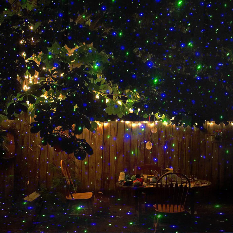 Patio Christmas Lights  Laser Lights Outdoor Holiday Decoration Christmas Lighting
