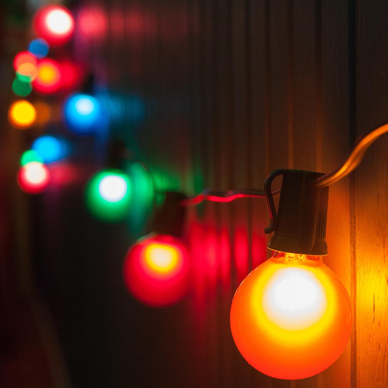Patio Christmas Lights  Patio String Lights and Bulbs