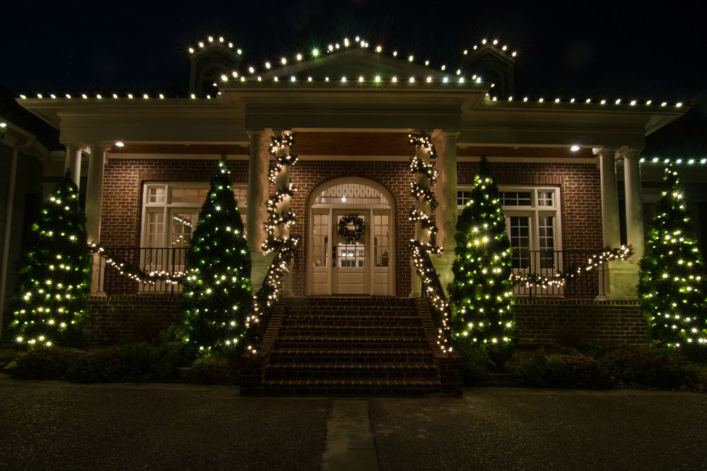 Patio Christmas Lights  Outdoor Lighting Perspectives