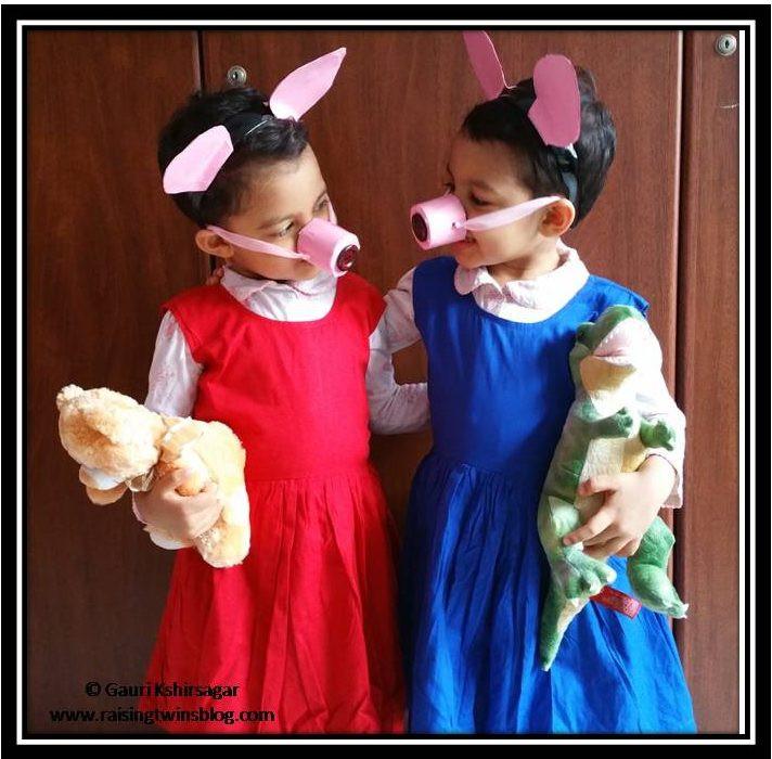 Peppa Pig Costume DIY  DIY Activity 10 'Peppa Pig and George' Costume Ideas