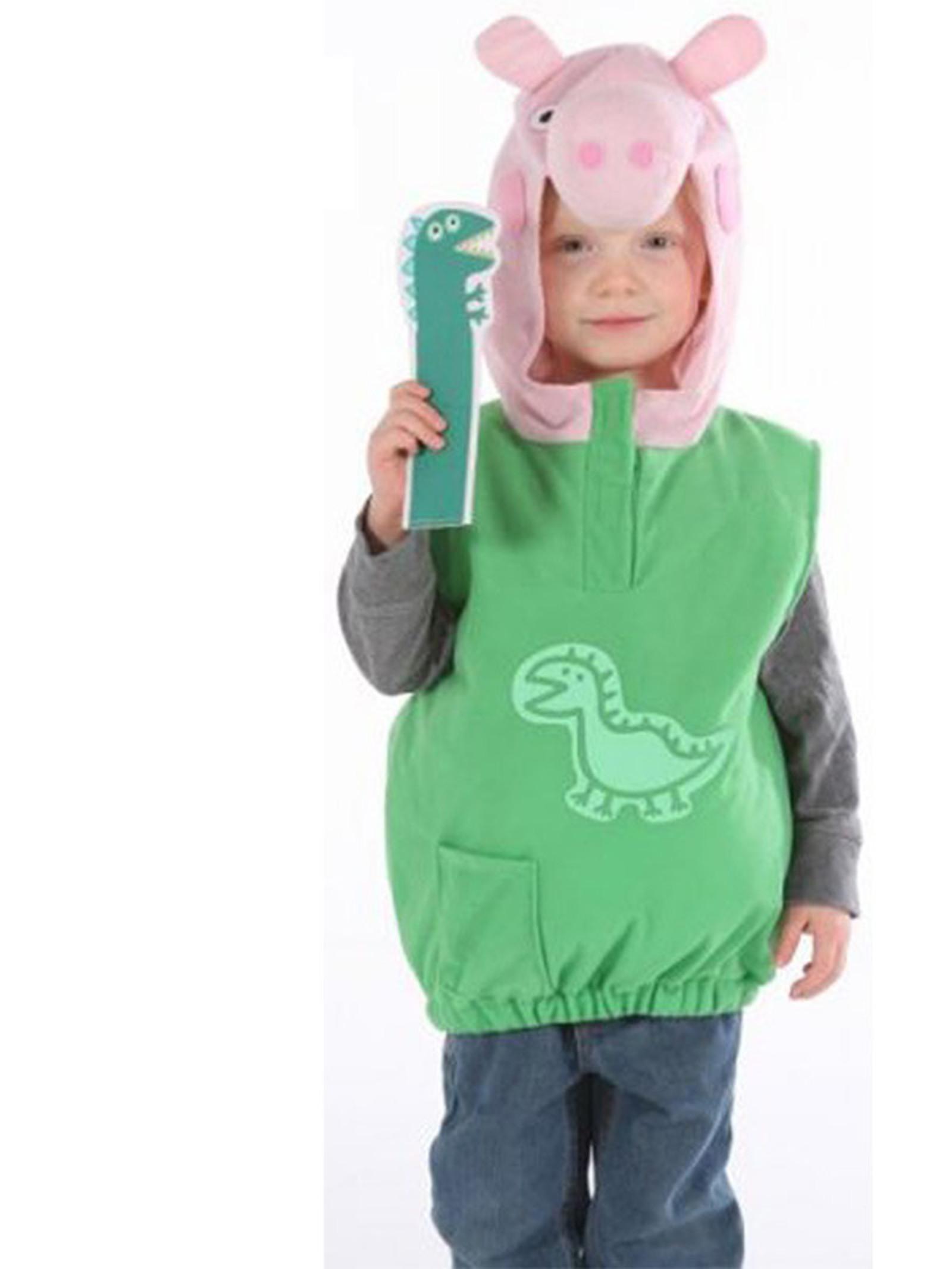 Peppa Pig Costume DIY  Peppa Pig s George Toddler Costume