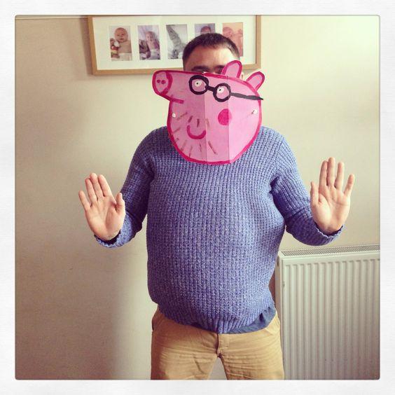 Peppa Pig Costume DIY  Daddy pig peppa pig costume