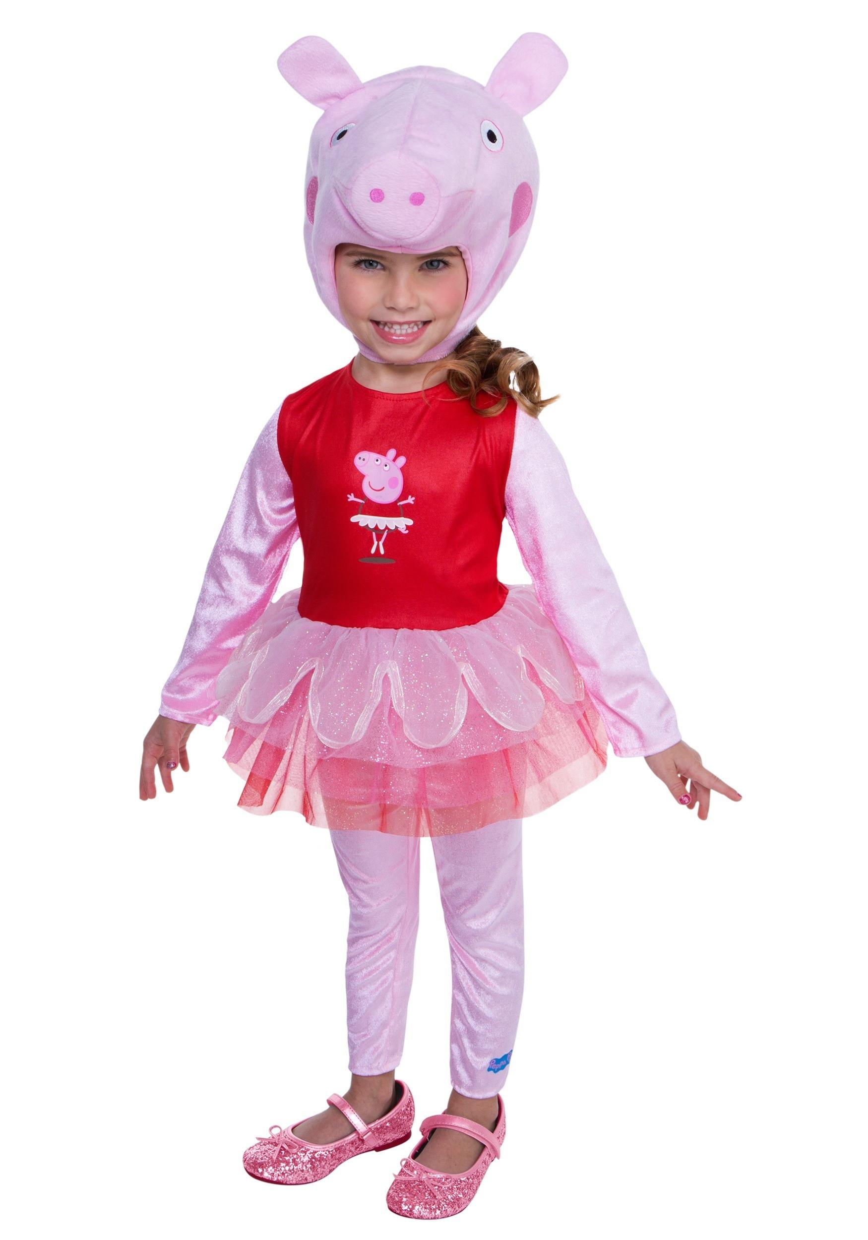 Peppa Pig Costume DIY  Peppa Pig Super Deluxe Tutu Costume