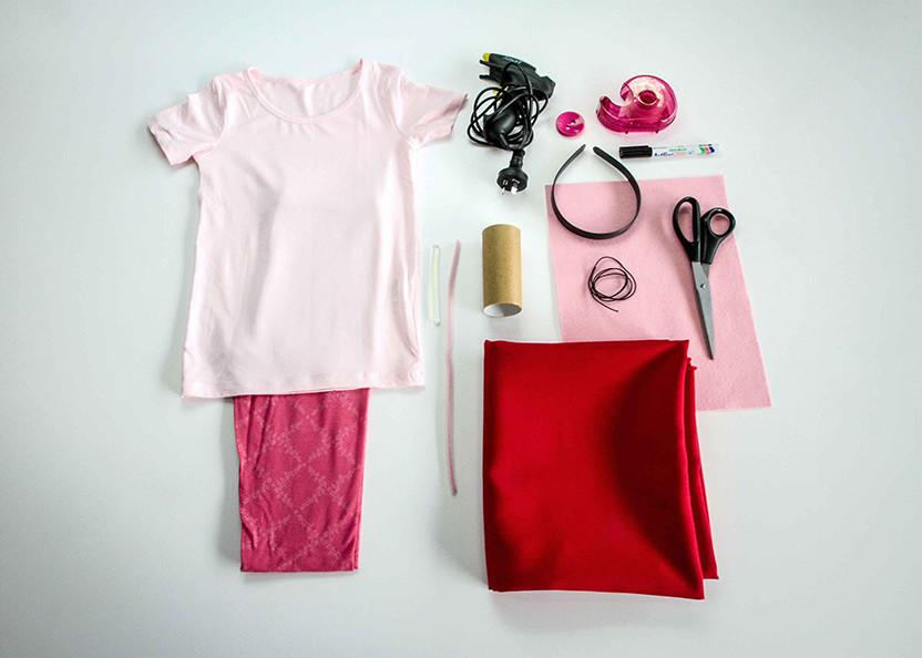 Peppa Pig Costume DIY  Easy DIY Peppa Pig costume