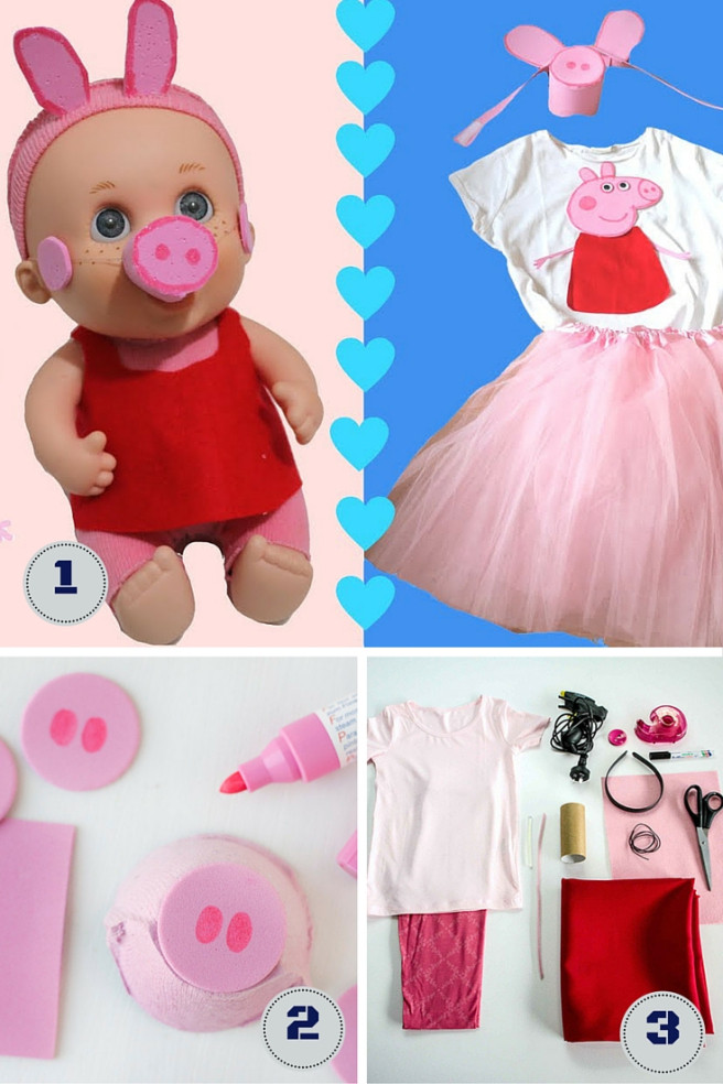 Peppa Pig Costume DIY  peppa pig costume