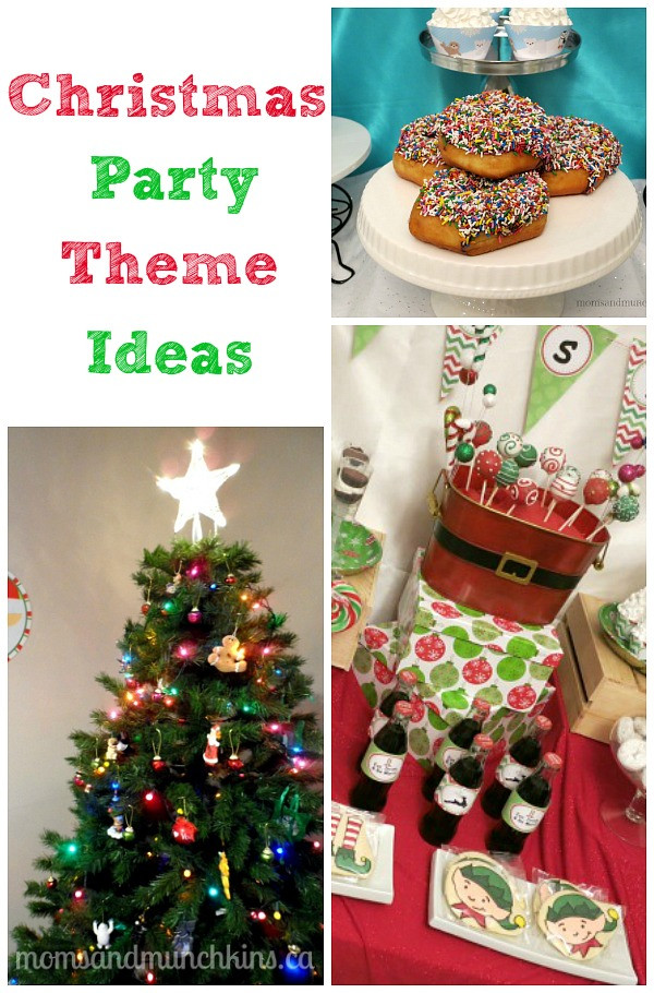 Pinterest Christmas Party Ideas  Christmas Party Themes Moms & Munchkins
