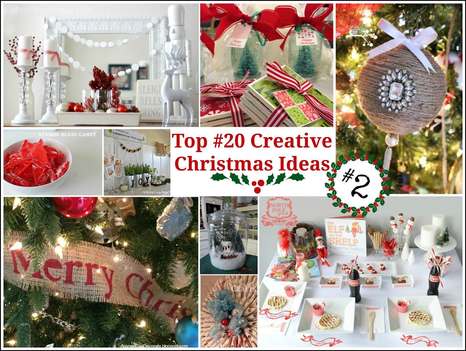 Pinterest Christmas Party Ideas  Top 20 Creative Christmas Ideas II Fox Hollow Cottage