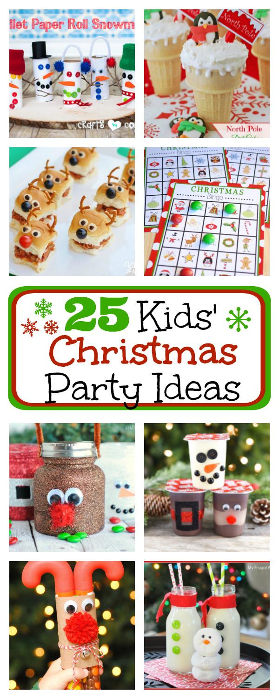Pinterest Christmas Party Ideas  25 Kids Christmas Party Ideas – Fun Squared