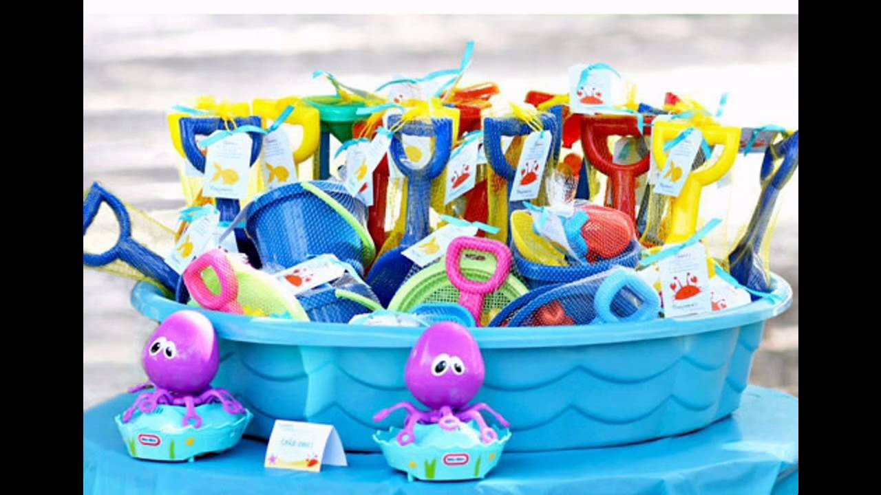Pool Party Favors Ideas For Kids  Kids pool party ideas decorations at home