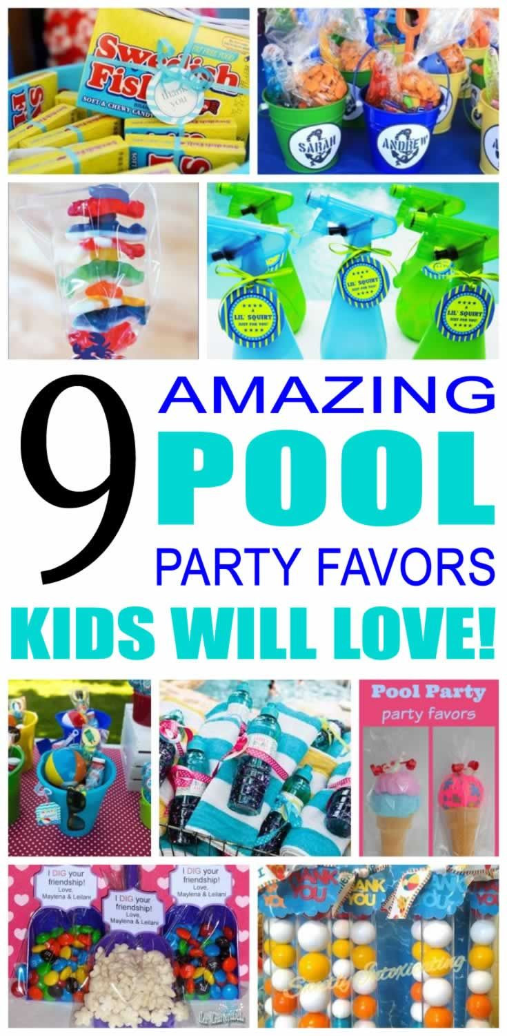 Pool Party Favors Ideas For Kids  Best 25 Kid pool parties ideas only on Pinterest
