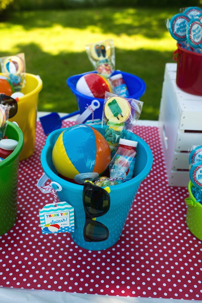 Pool Party Favors Ideas For Kids  Splish Splash Pool Party Bash