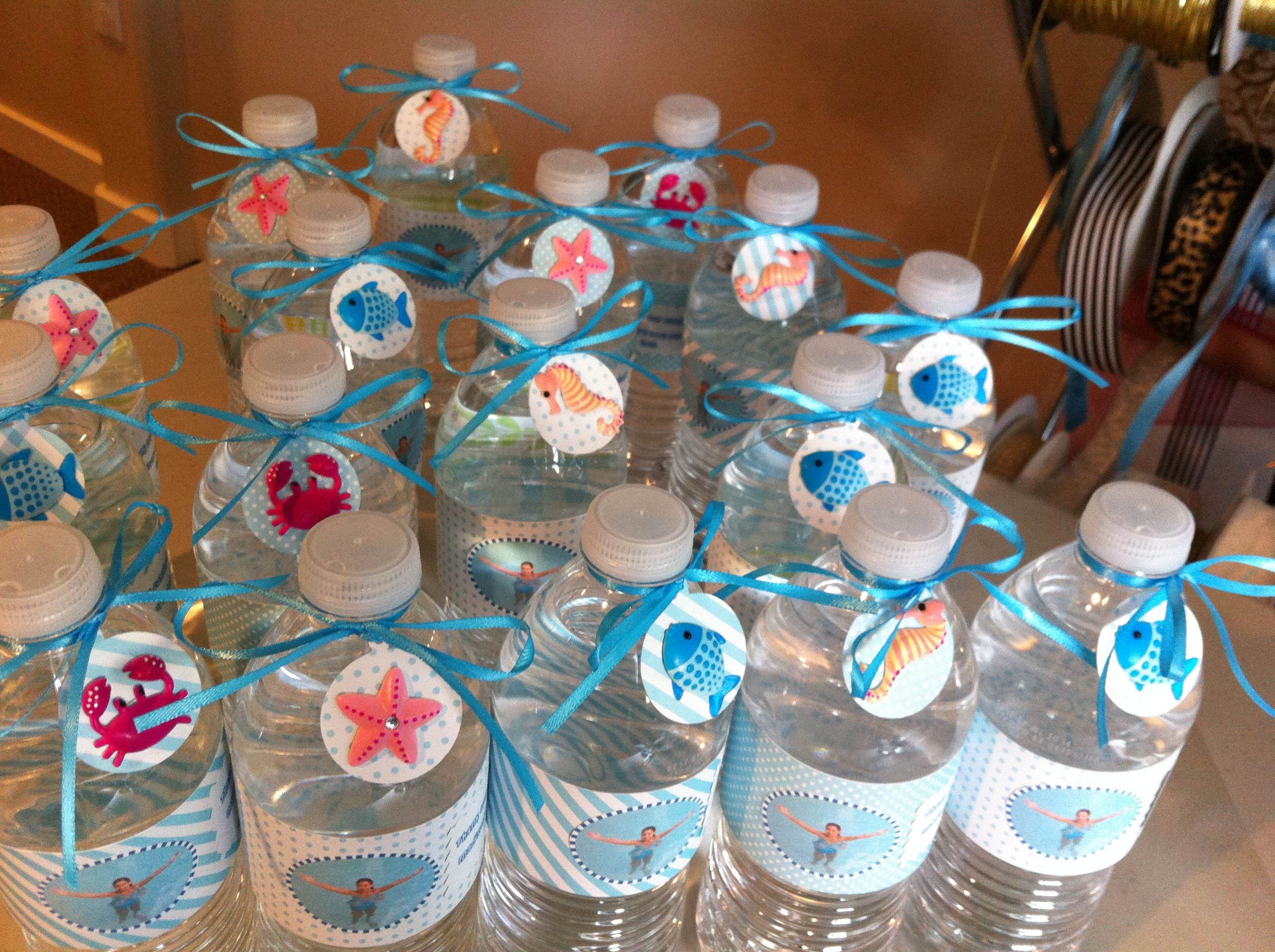 Pool Party Favors Ideas For Kids  Kids Pool Party on Pinterest