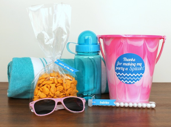 Pool Party Favors Ideas For Kids  Kids Pool Party Favors Evite