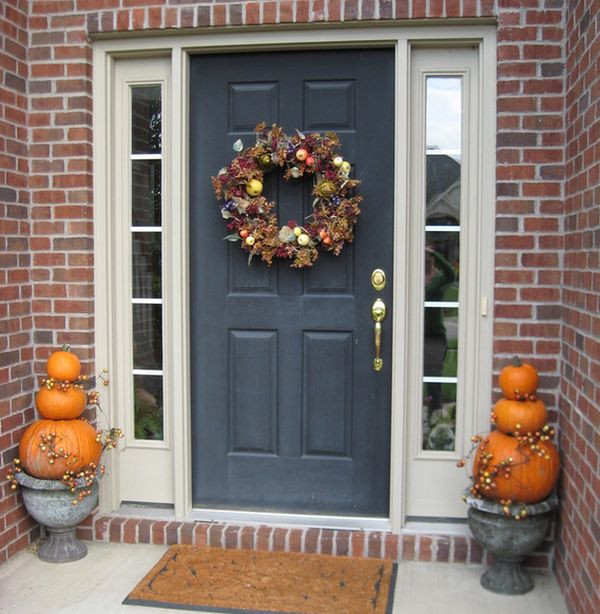 Porch Decorated For Halloween  Halloween Porch And Entryway Ideas From Subtle To Scary