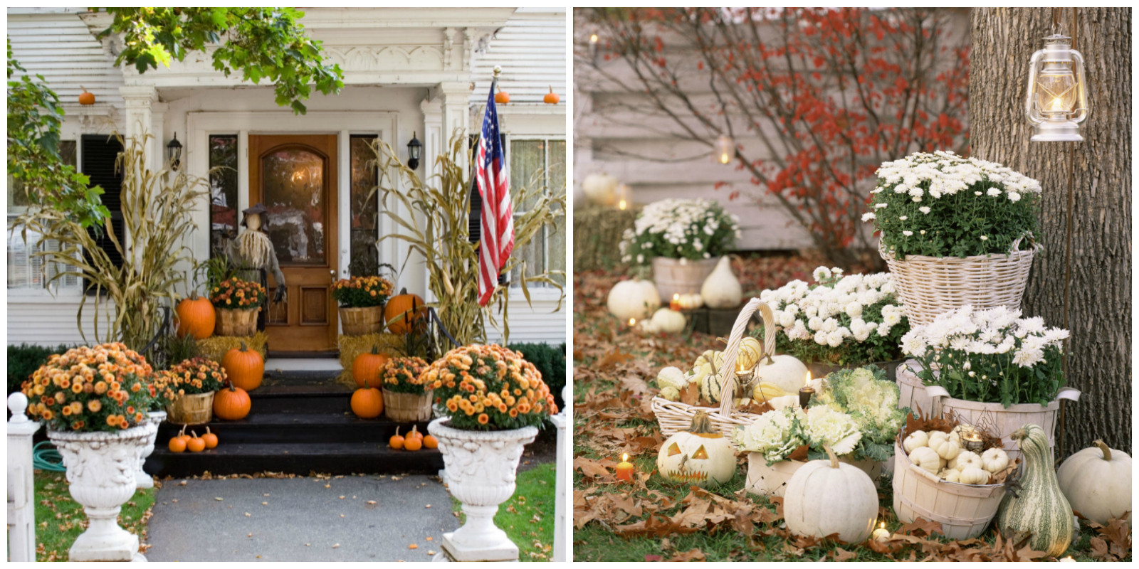 Porch Decorated For Halloween  25 Outdoor Halloween Decorations Porch Decorating Ideas