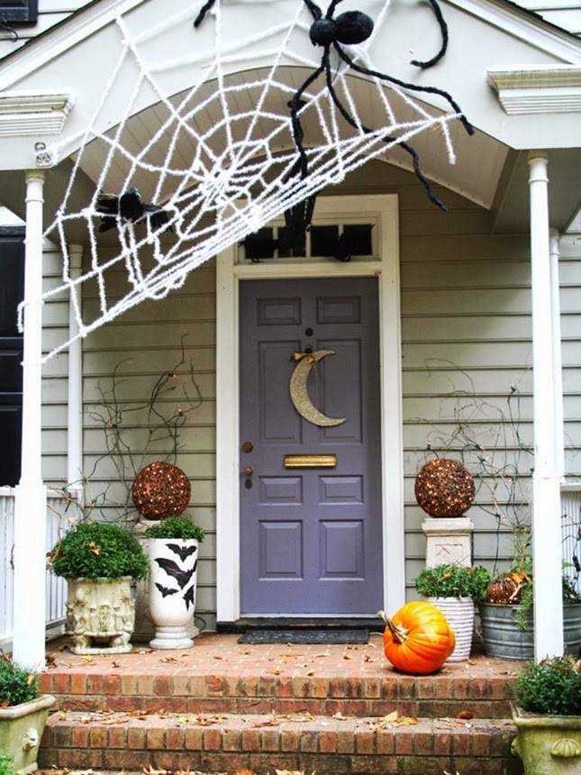 Porch Decorated For Halloween  How to Decorate Your Porch for Halloween