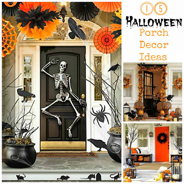 Porch Decorating For Halloween  15 Halloween Porch Decor Ideas I Dig Pinterest