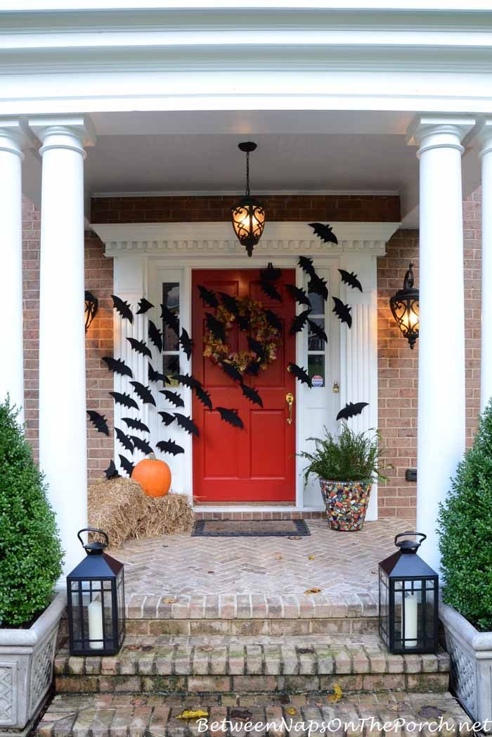 Porch Decorations For Halloween  Best 25 Halloween front porches ideas on Pinterest