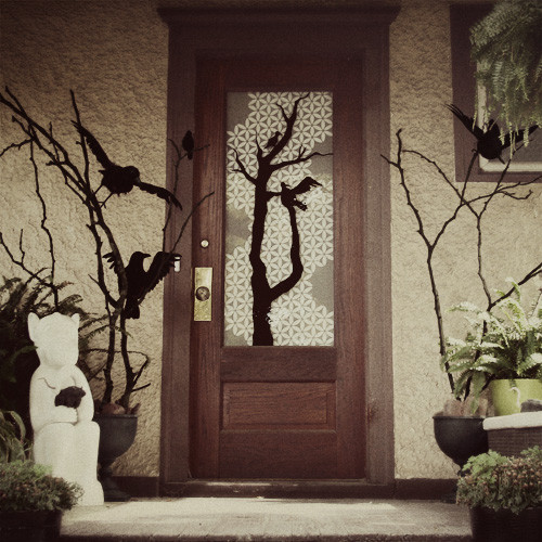 Porch Halloween Decor  Halloween Decorating Ideas Front Porch on Pinterest