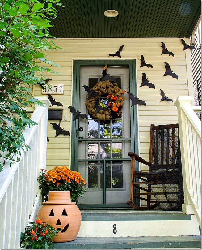 Porch Halloween Decor  Halloween Home Decor