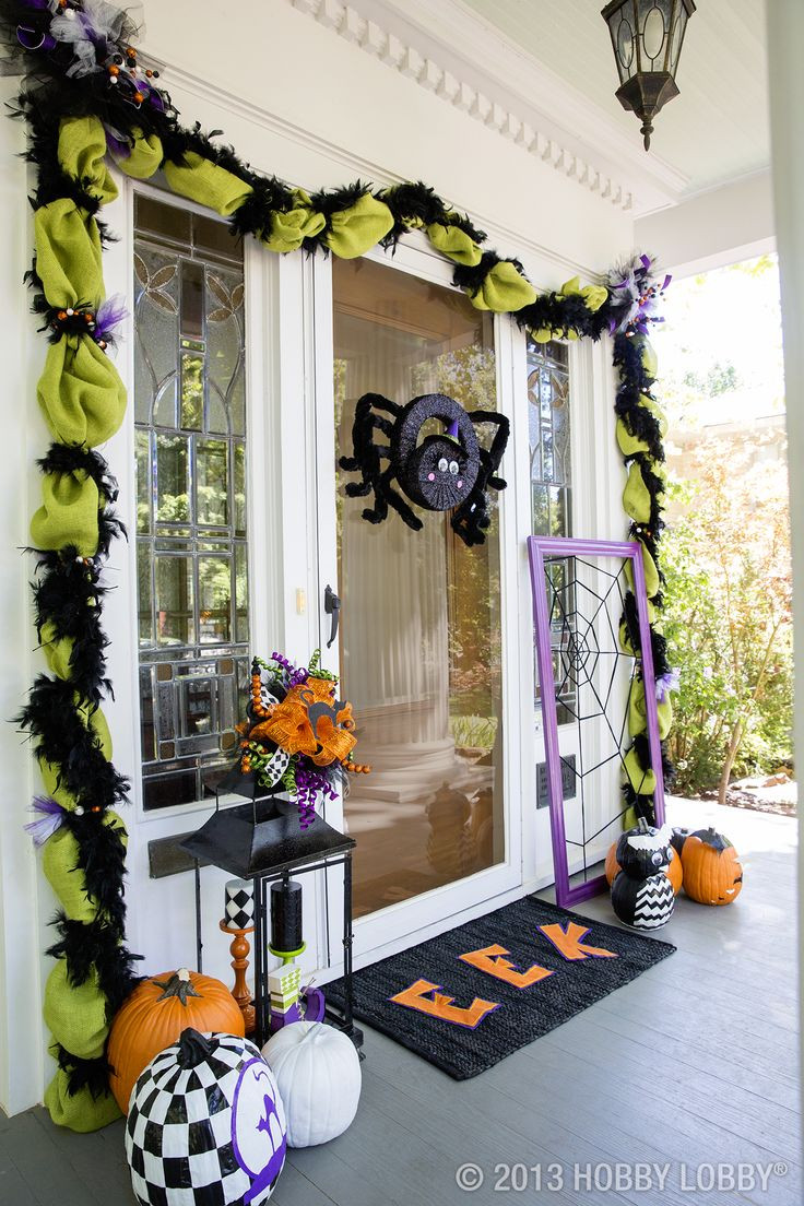 Porch Halloween Decorations  Best 25 Halloween front porches ideas on Pinterest