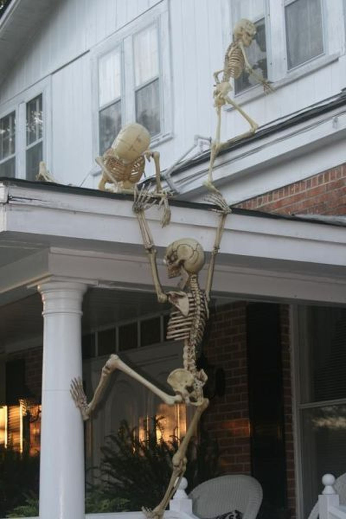 Porch Halloween Decorations  plete List of Halloween Decorations Ideas In Your Home