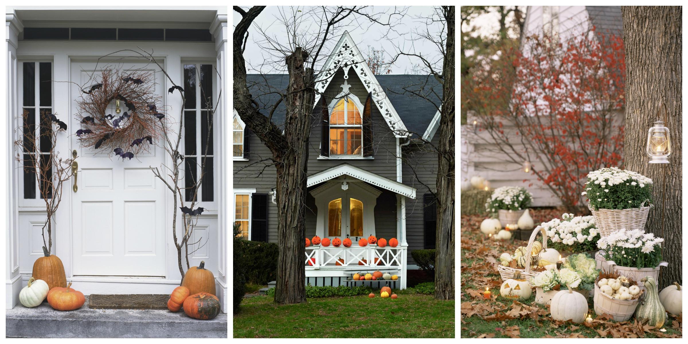 Porch Halloween Decorations  30 Best Outdoor Halloween Decoration Ideas Easy