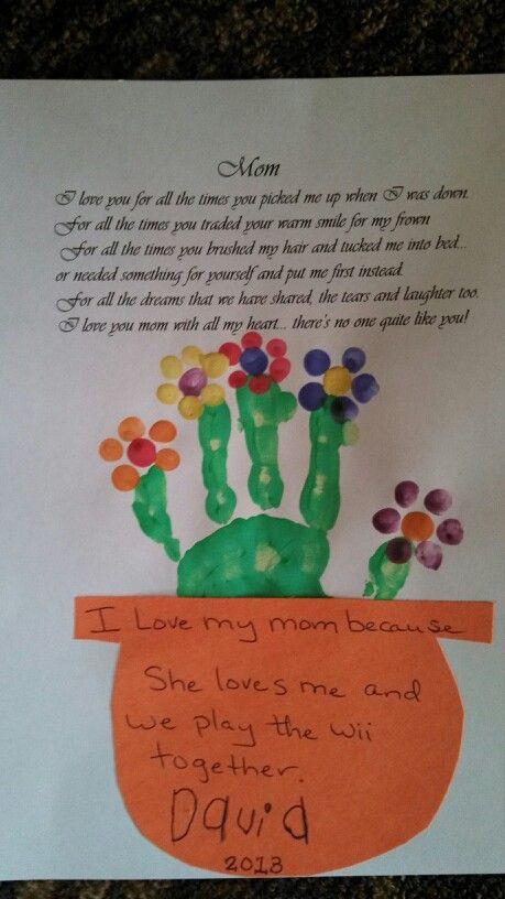 Preschool Mothers Day Gift Ideas  Mother s Day preschool activity Creativity
