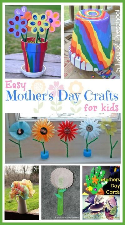 Preschool Mothers Day Gift Ideas  98 best images about Kids Mother s Day Activities on