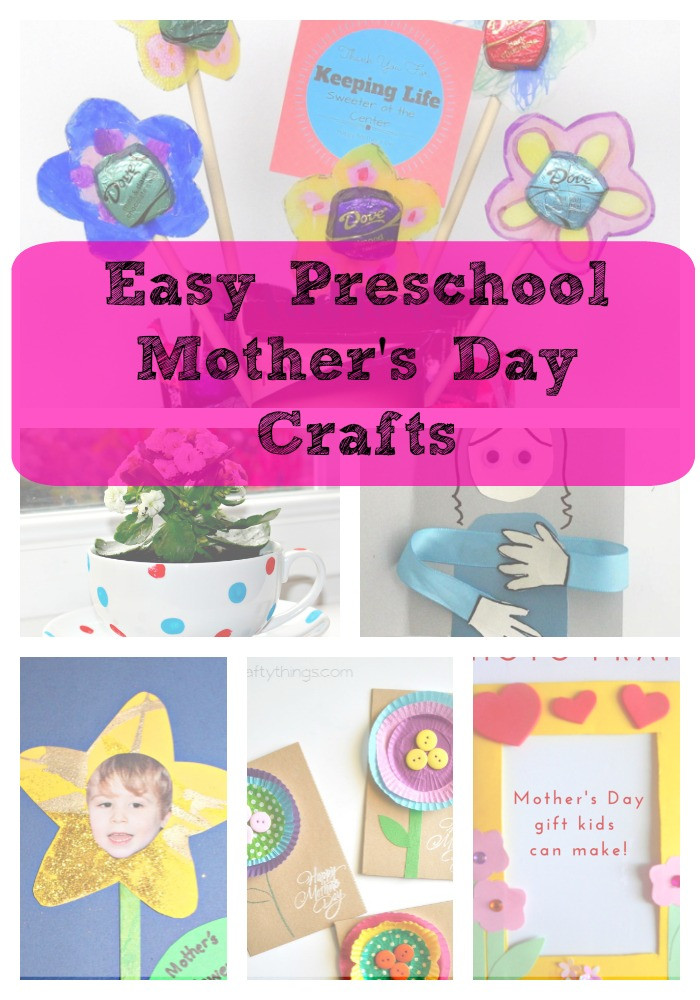 Preschool Mothers Day Gift Ideas  Mother's Day Crafts Gift Ideas – Great for Preschool