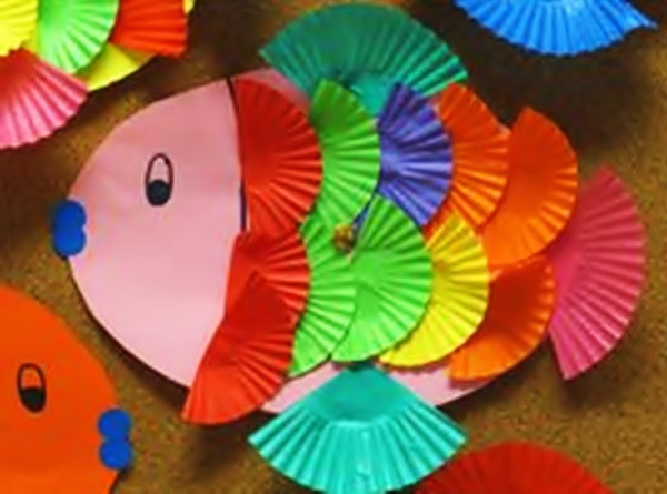 Preschoolers Art And Craft  9 Unique Fish Craft Ideas For Kids and Toddlers