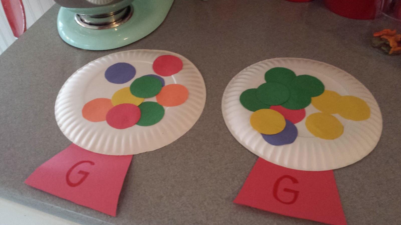 Preschoolers Art And Craft  Letter G Crafts Preschool and Kindergarten