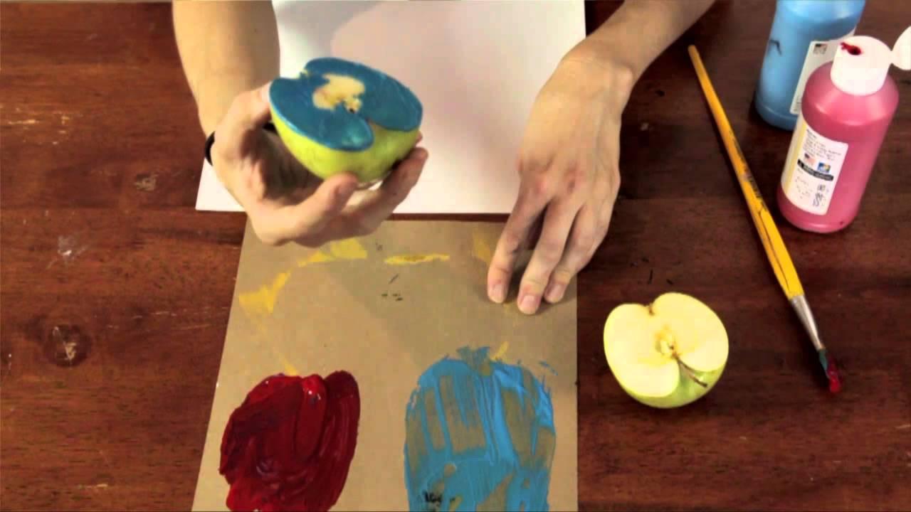 Preschoolers Art And Craft  Apple Arts & Craft Ideas for Preschool Children