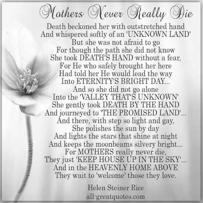 Quotes About Death Of A Mother  Best 25 Loss of mother quotes ideas on Pinterest