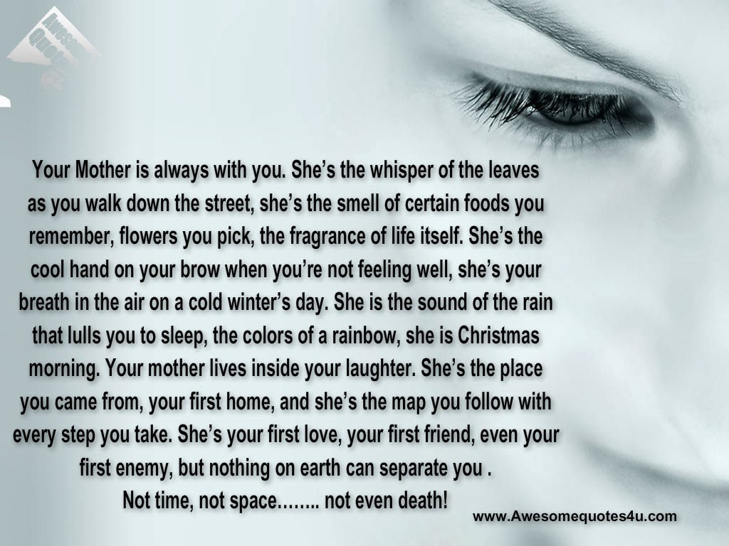 Quotes About Death Of A Mother  Remembering A Mothers Death Quotes QuotesGram
