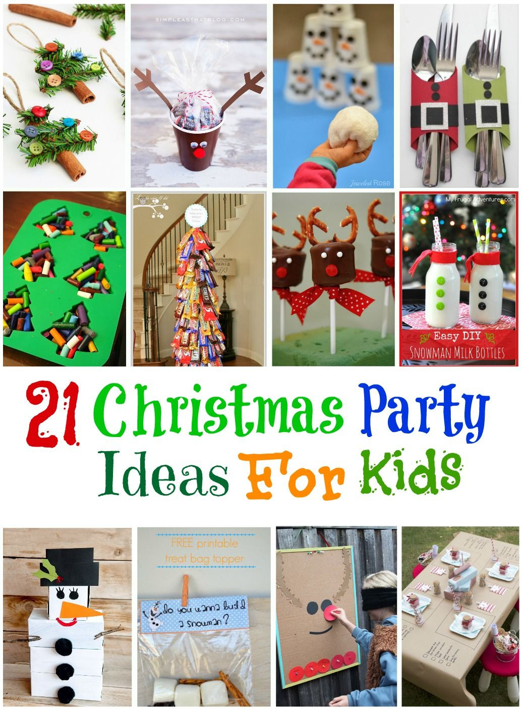 School Christmas Party Ideas  21 Amazing Christmas Party Ideas for Kids