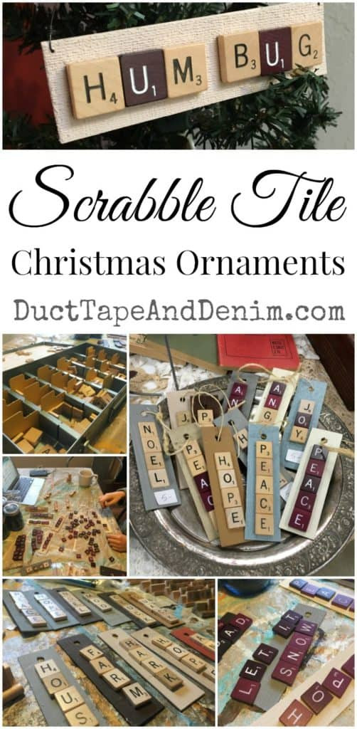 Scrabble Tile Christmas Ornaments  Scrabble Christmas Ornaments