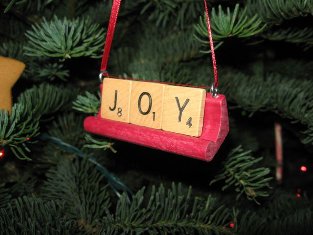 Scrabble Tile Christmas Ornaments  Scrabble Tile Ornaments