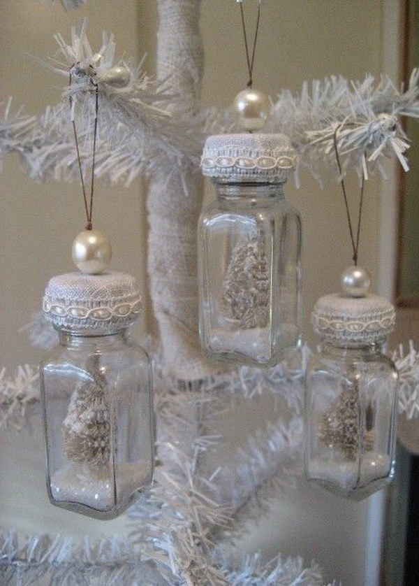Shabby Chic Christmas Ornaments  Awesome Shabby Chic Christmas Decorations