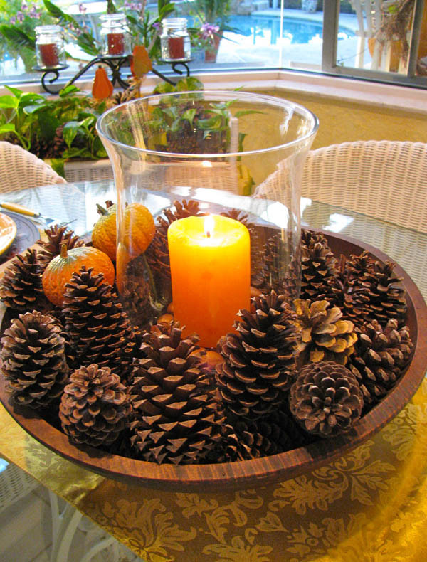 Simple Thanksgiving Table Decorations  31 Stylish Thanksgiving Table Decor Ideas Easyday